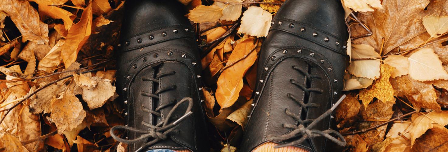 Chaussure de cuir classique, à la ville comme à la campagne