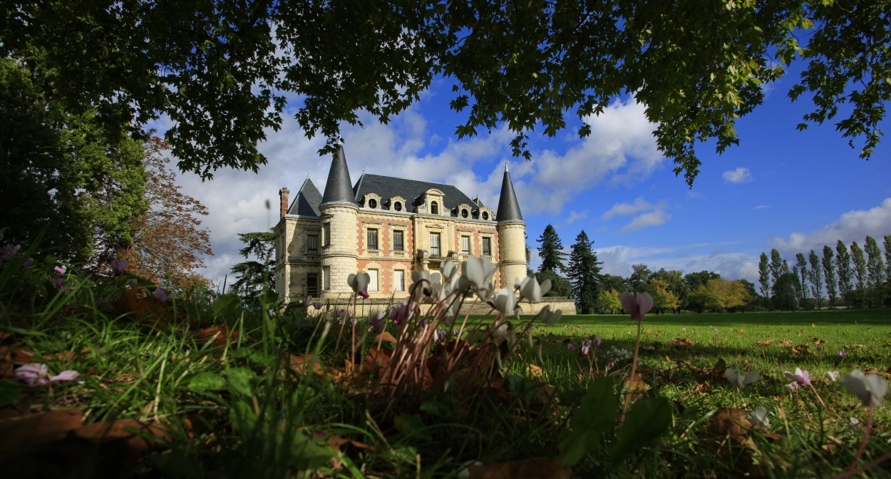 Vignoble en famille © Château Lamothe-Bergeron