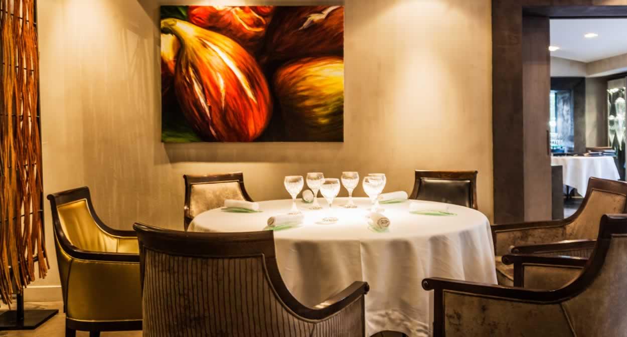 La salle du Restaurant Alexandre © Aurélio RODRIGUEZ