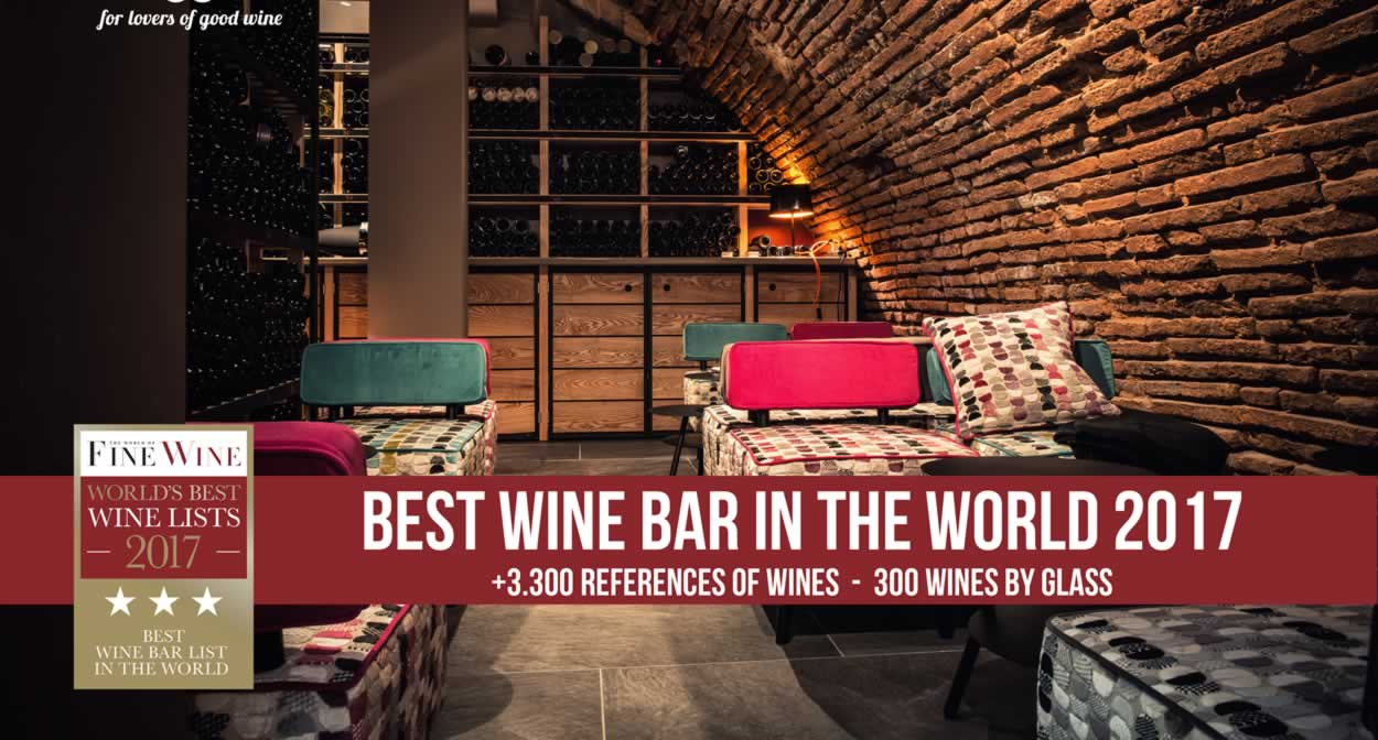 The best wine bar in the world © N°5 Wine Bar