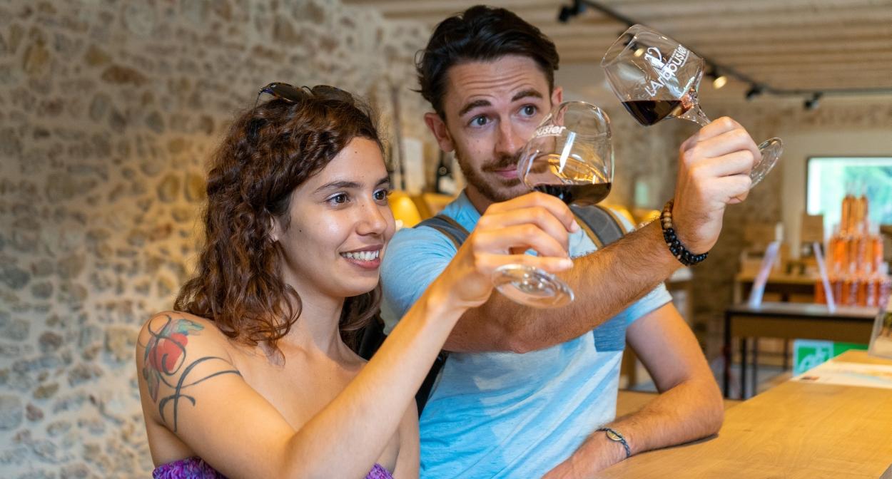 Initiation à la dégustation de vins dans l'Hérault @OT3M