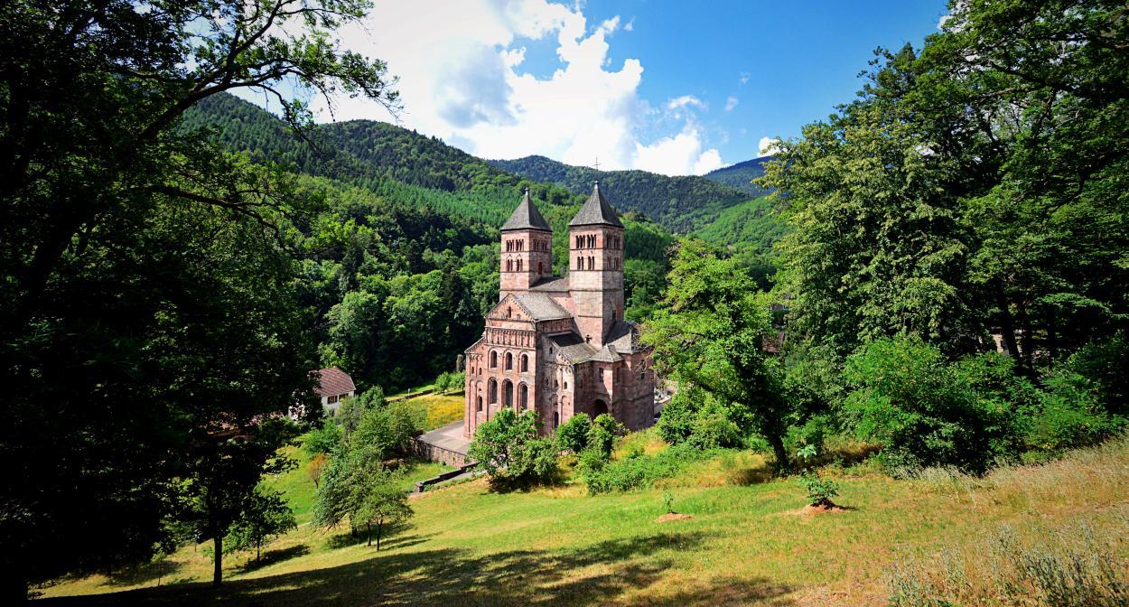 Abbaye of Murbach, Alsace ©Vincent Schneider