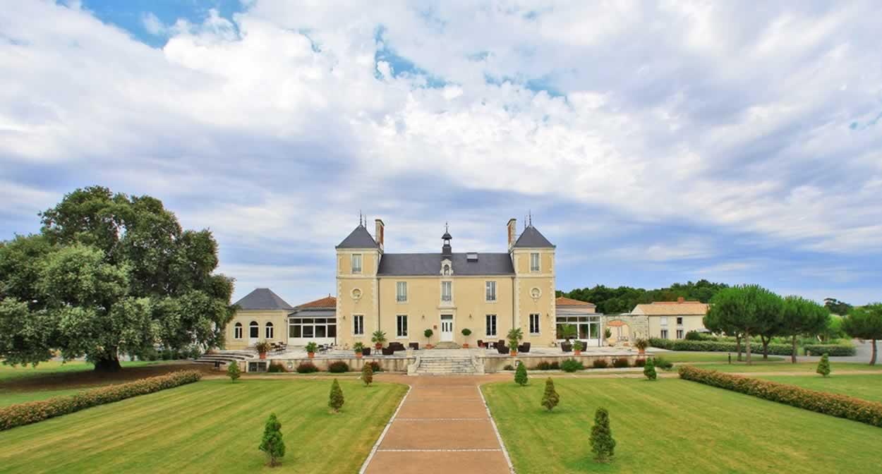 Allée centrale Château de la Sébrandière © Château de la Sébrandière