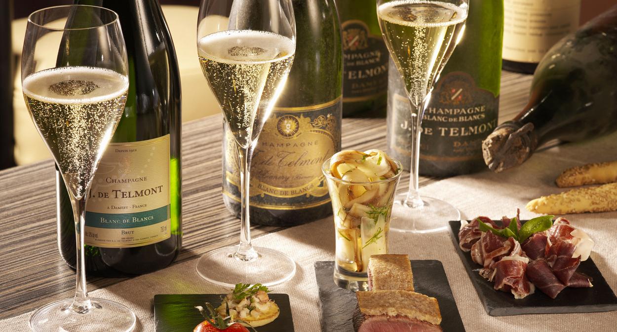 Atelier d'oenologie champagne de Telmont