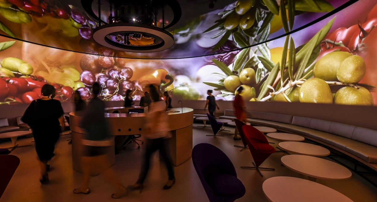 Atelier polysensoriel © Anaka / Cité du Vin / XTU architects