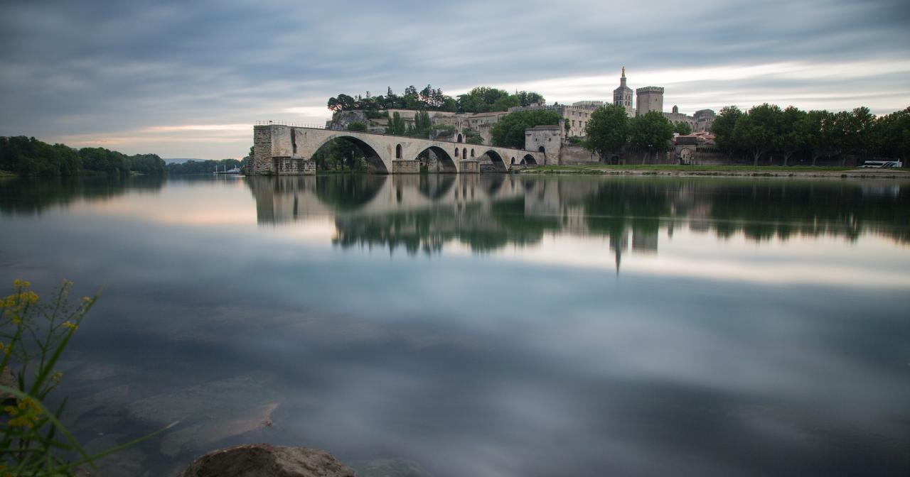 Avignon, Rhône Valley vineyard ©Inter Rhône