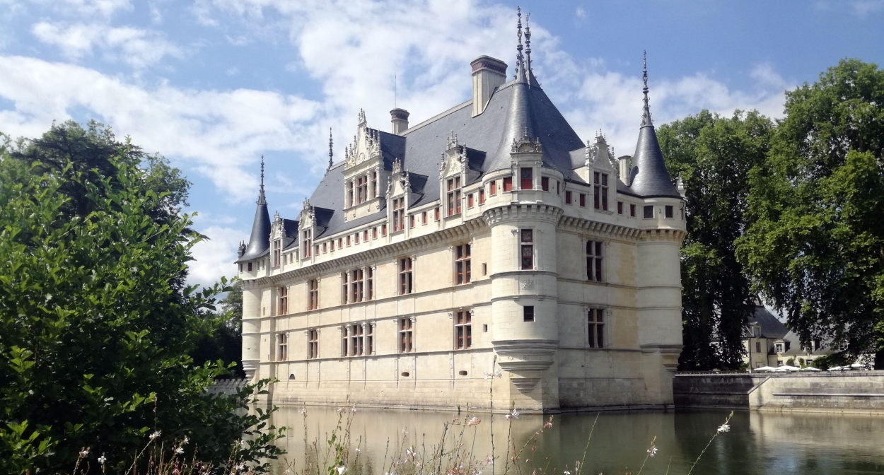 Le Château d'Azay-le-Rideau © V. Treney – CRT Centre Val de Loire