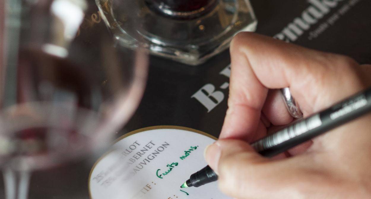 Atelier créez votre vin B winemaker chez Bernard Magrez Bordeaux