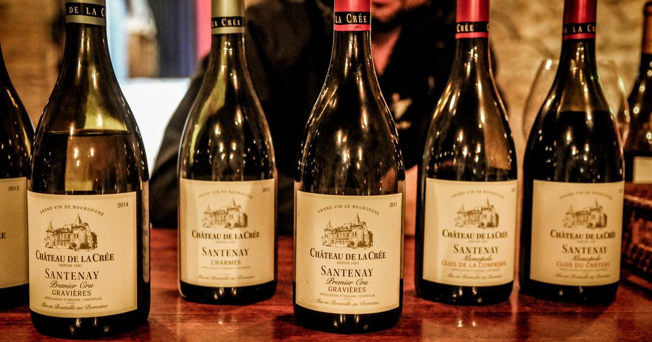 Burgundy wines ©Leah Walker
