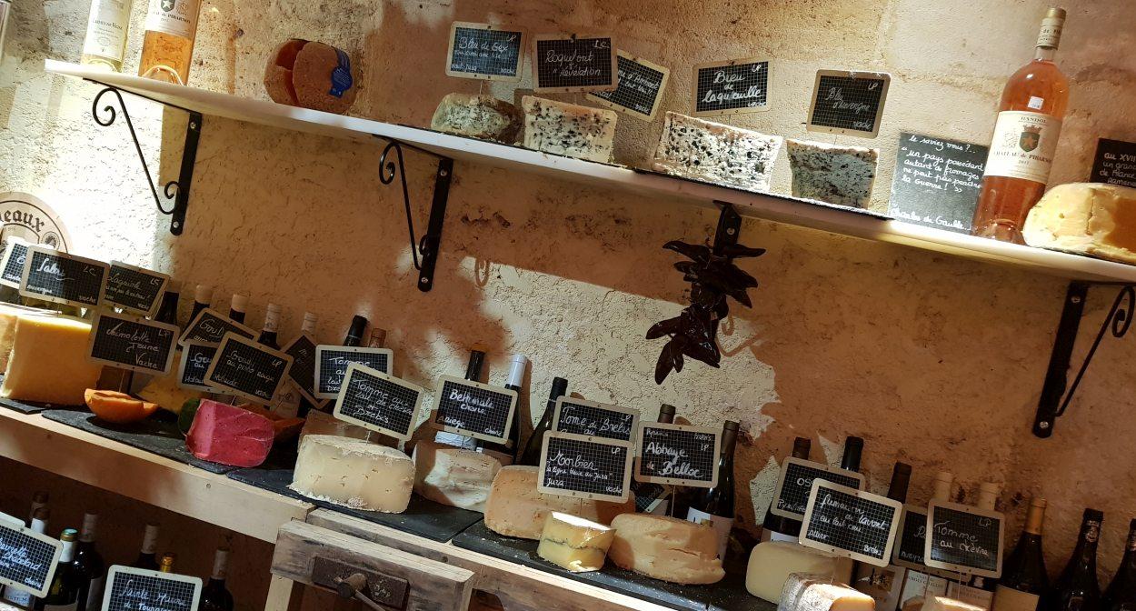Cave à vin et à fromages de Baud et Millet © Baud et Millet