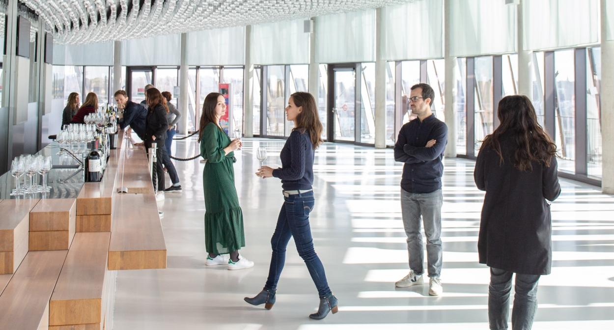 Visite de la Cité du Vin ©Cité du Vin / XTU architects