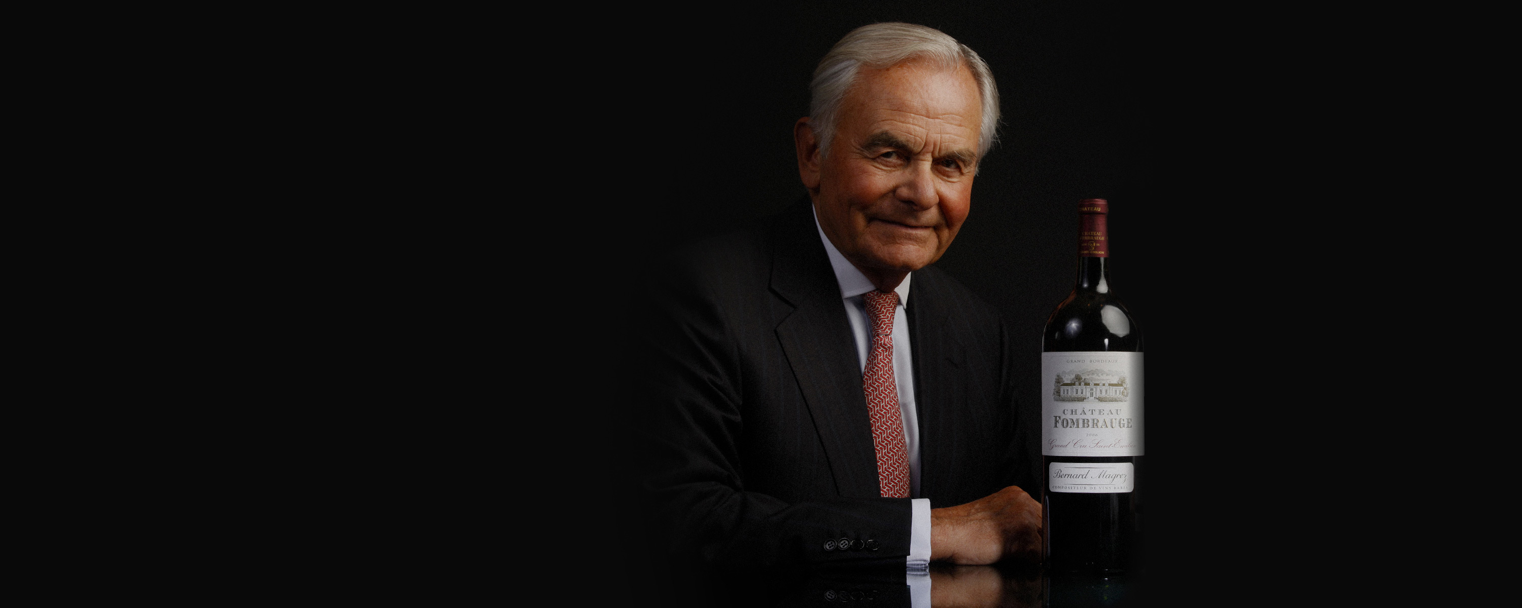 Portrait bernard magrez luxury wine experience © All rights reserved