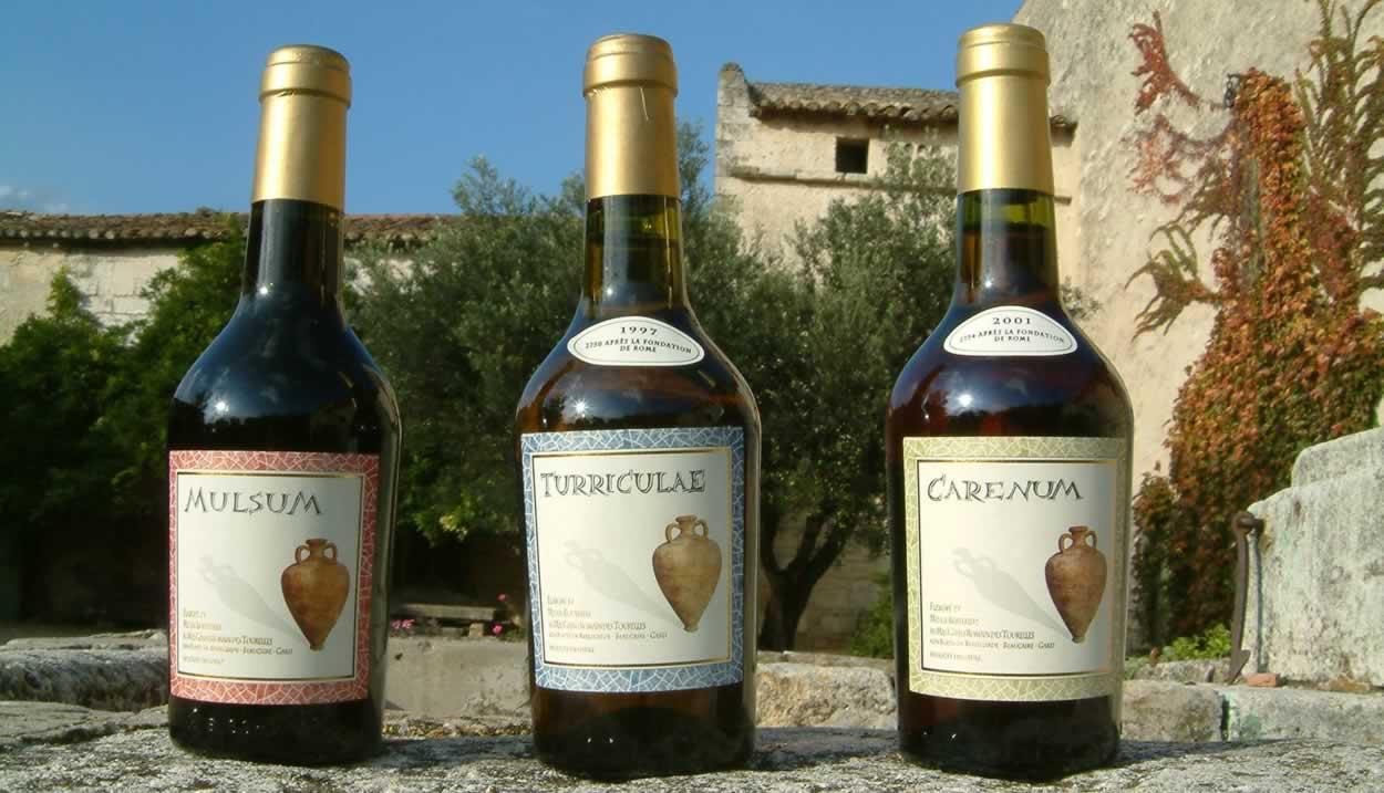 Les vins romains ©Domaine Le Mas des Tourelles