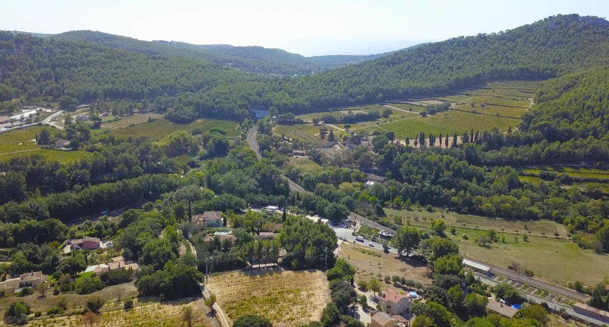 Les paysages du vignoble de Bandol © cassb