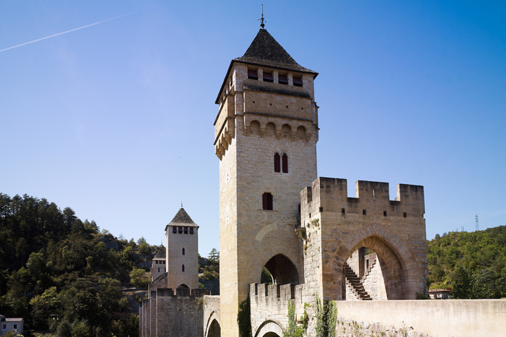 Pont Valentre unesco cahors Flavours of the lot festival south west france @CRT Midi Pyrenees / D. Viet