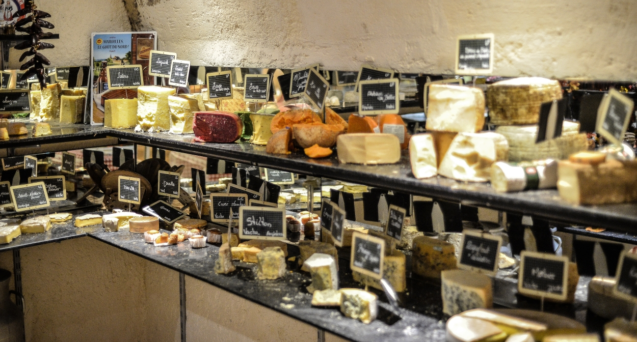 The 100 cheese cave ©Baud et Millet