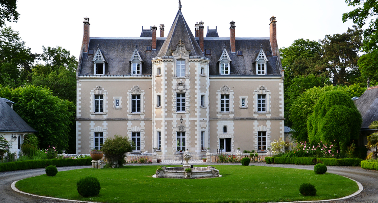 Chateau de Fontenay Loire Valley