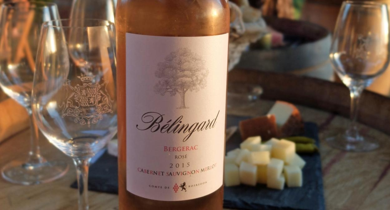 Château_Bélingard_wine_bottle_rosé ©Château Bélingard