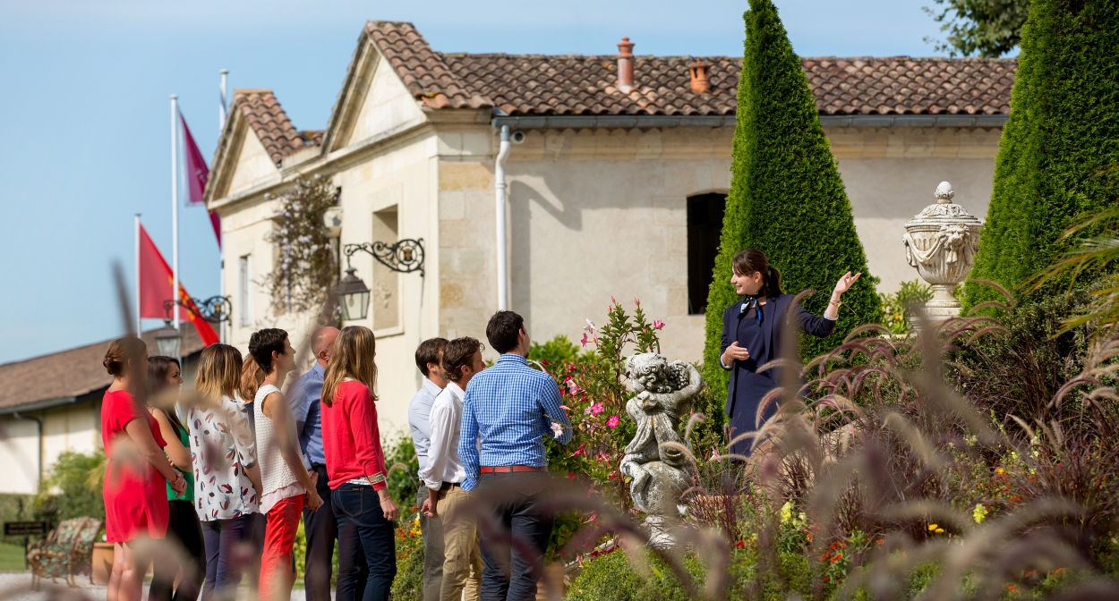 Visite guidée au Château Pape Clément © Château Pape Clément - Deepix