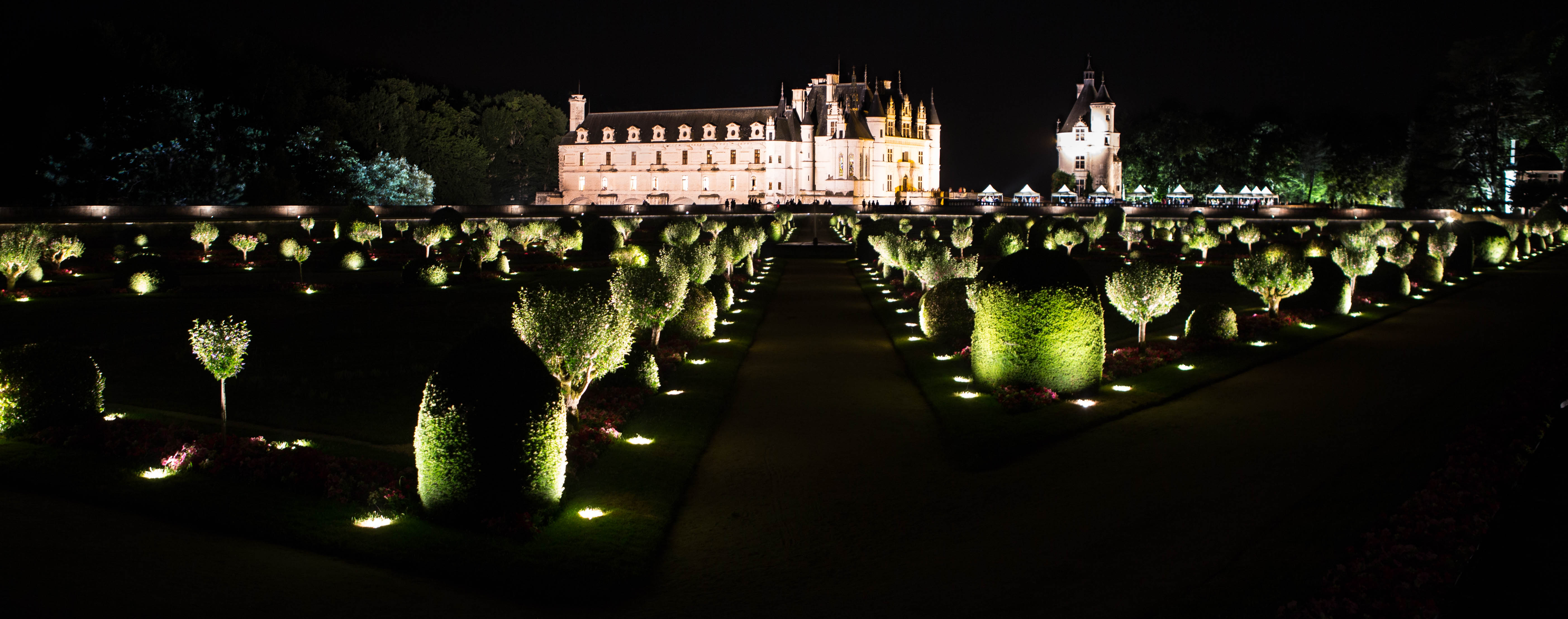 Chenonceau château and gardens © Philippe Lucchese