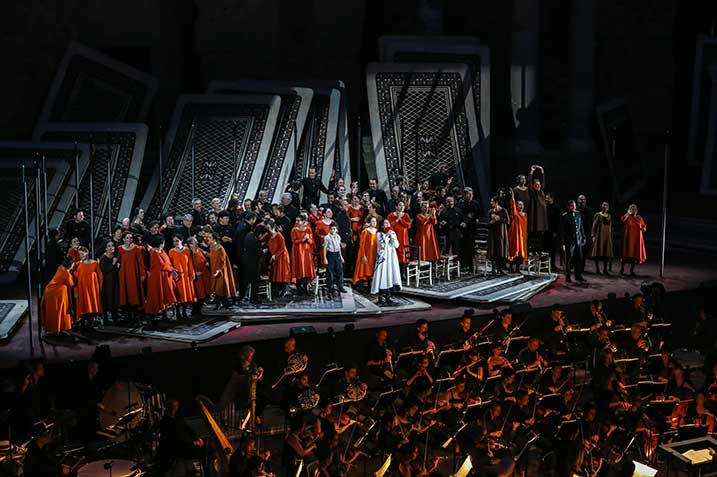 Opéra carmen aux chorégies d'orange maison ogier ©DR