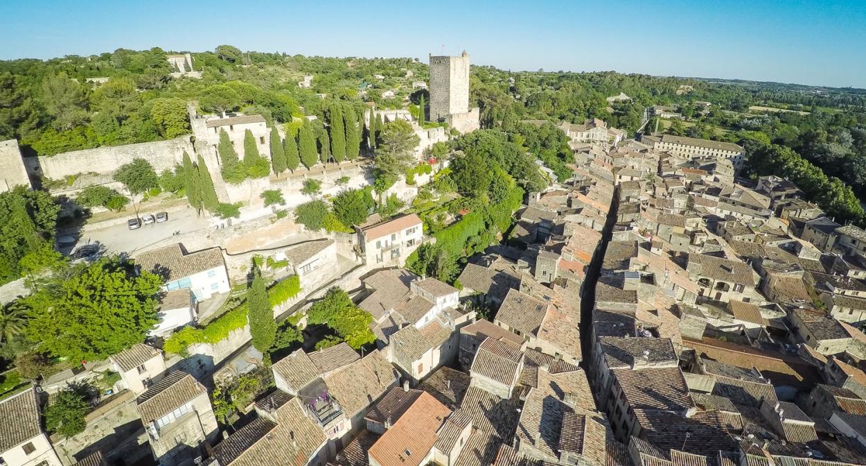 The medieval city around Château de Sommières@RégisDomergue