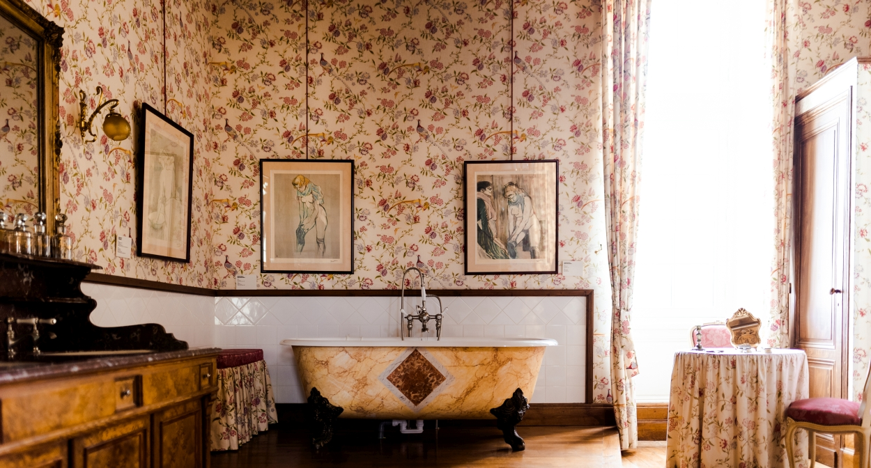 Toulouse-Lautrec's former apartments at Château Malromé © Pierre-Yves Queignec
