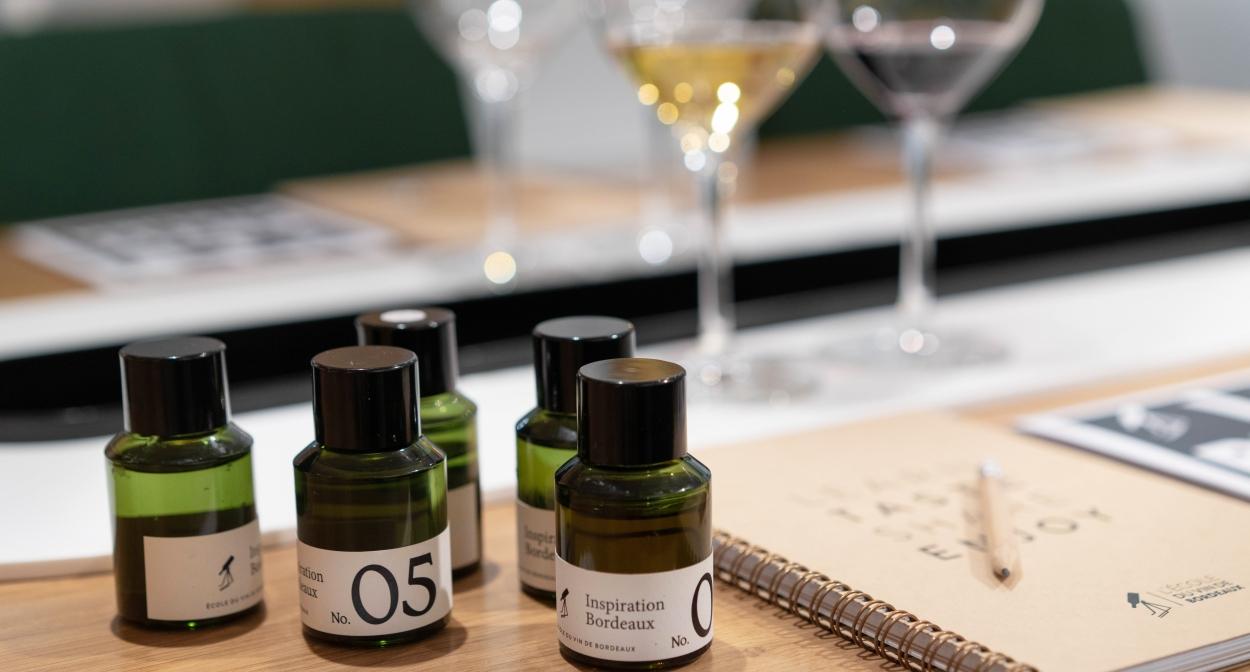 Une expérience aromatique autour des vins de Bordeaux © M. Anglada