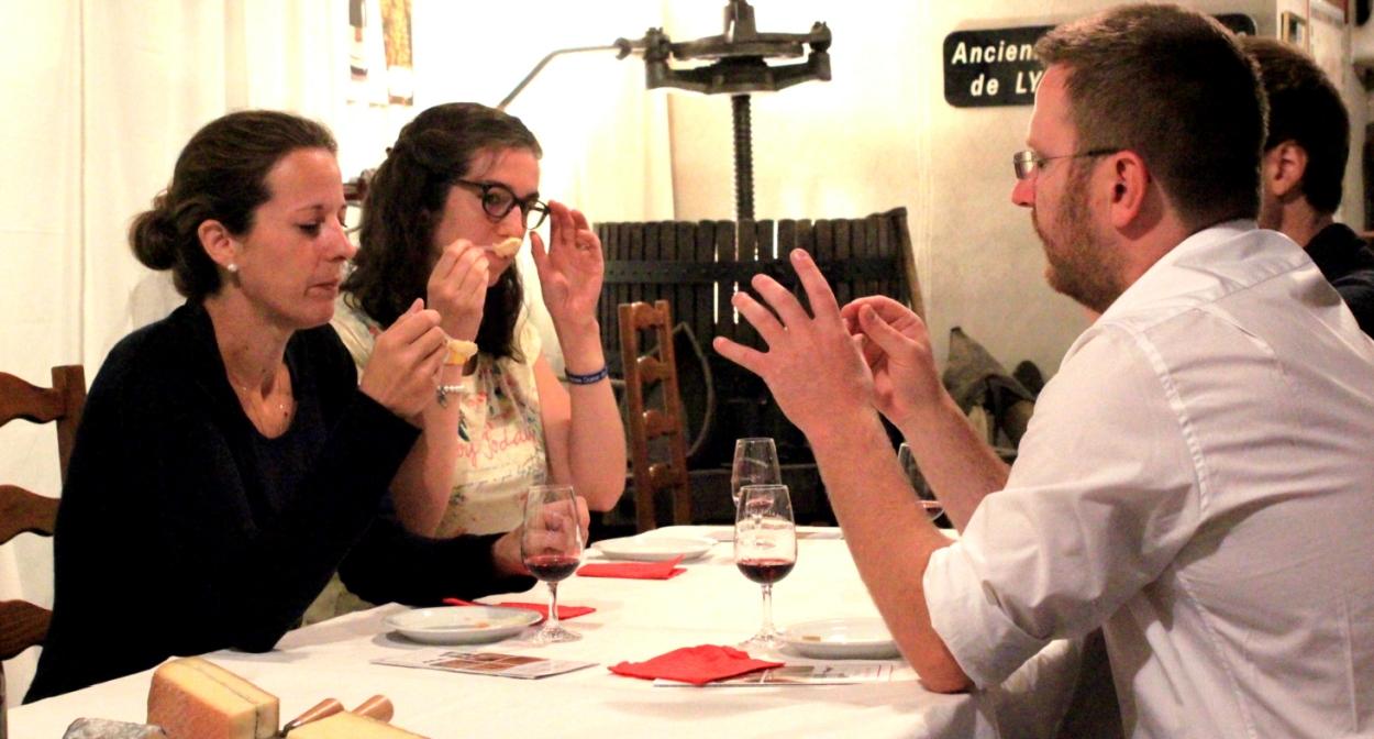 Explication des accords vins et fromages © Domaine Gérard BRISSON