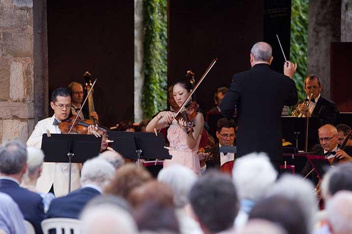 Festival musique et vin en bourgogne au clos de vougeot ©DR