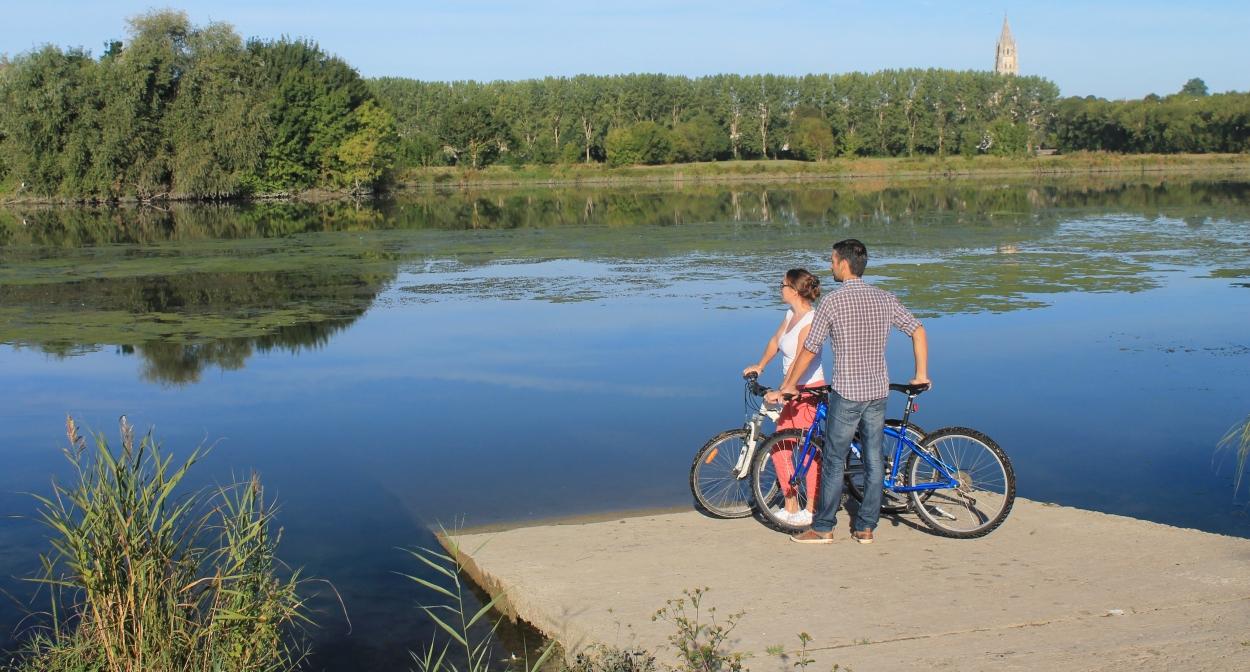 La Flow Vélo crossing Saintonge Romane © Stéphanie Nadouce