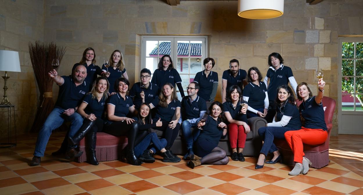 Teaching staff at l'École du Vin de Bordeaux © M. Anglada