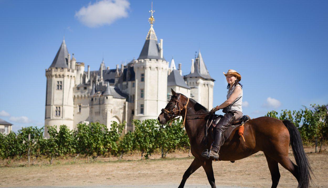 Balade à cheval © F4-Frédéric.Ayroulet- LES VINS DE SAUMUR