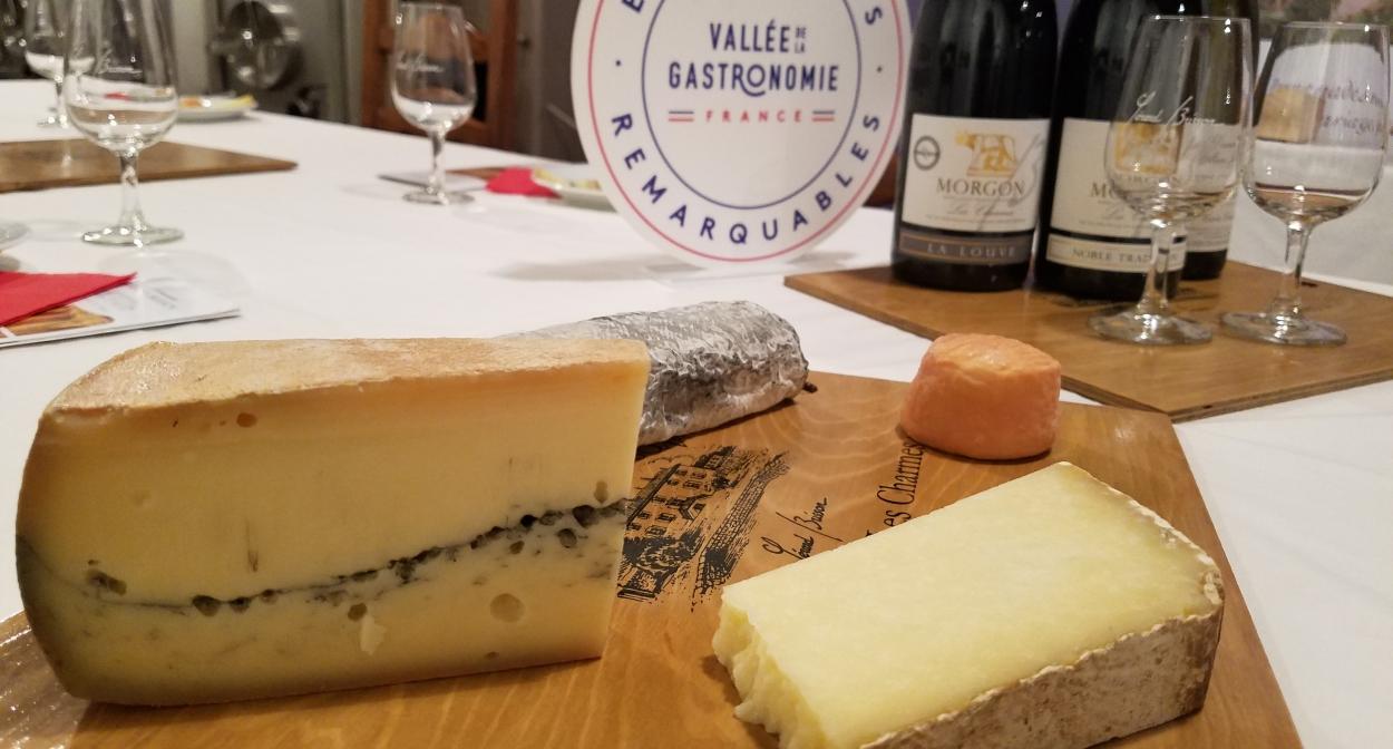 Expérience remarquable – Vallée de la Gastronomie © Domaine Gérard BRISSON