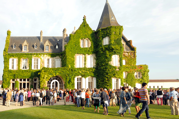Grands Crus musicaux festival at chateau Smith Lafitte Bordeaux vineyards @All rights reserved