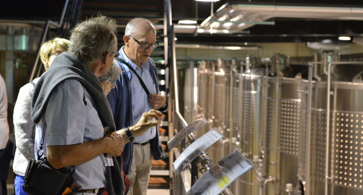 Centre de vinification ©Coll Hameau Duboeuf
