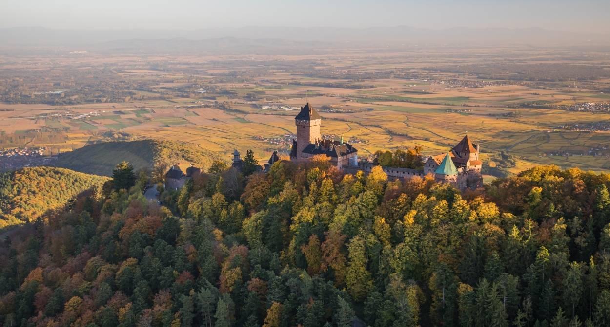 Le château du Haut-Koenigsbourg © VUANO-ConseilVinsAlsace