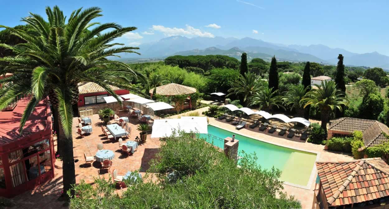 La Signoria & Spa, vignoble de Corse © Relais & Châteaux