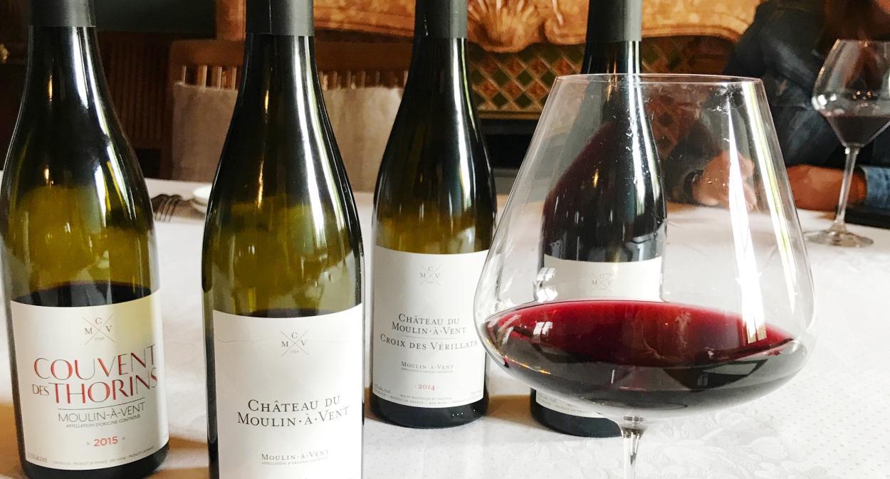 Vin du Beaujolais au Château du Moulin-à-Vent ©Love&Lemons
