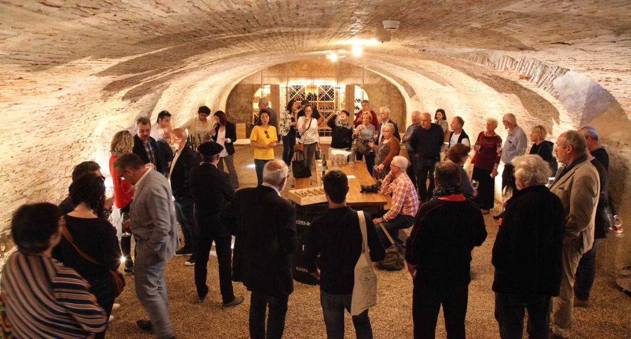 Atelier autour du vin de Plaimont ©Plaimont