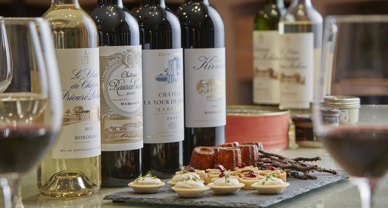Food and wine pairings in Margaux © Pas de credit