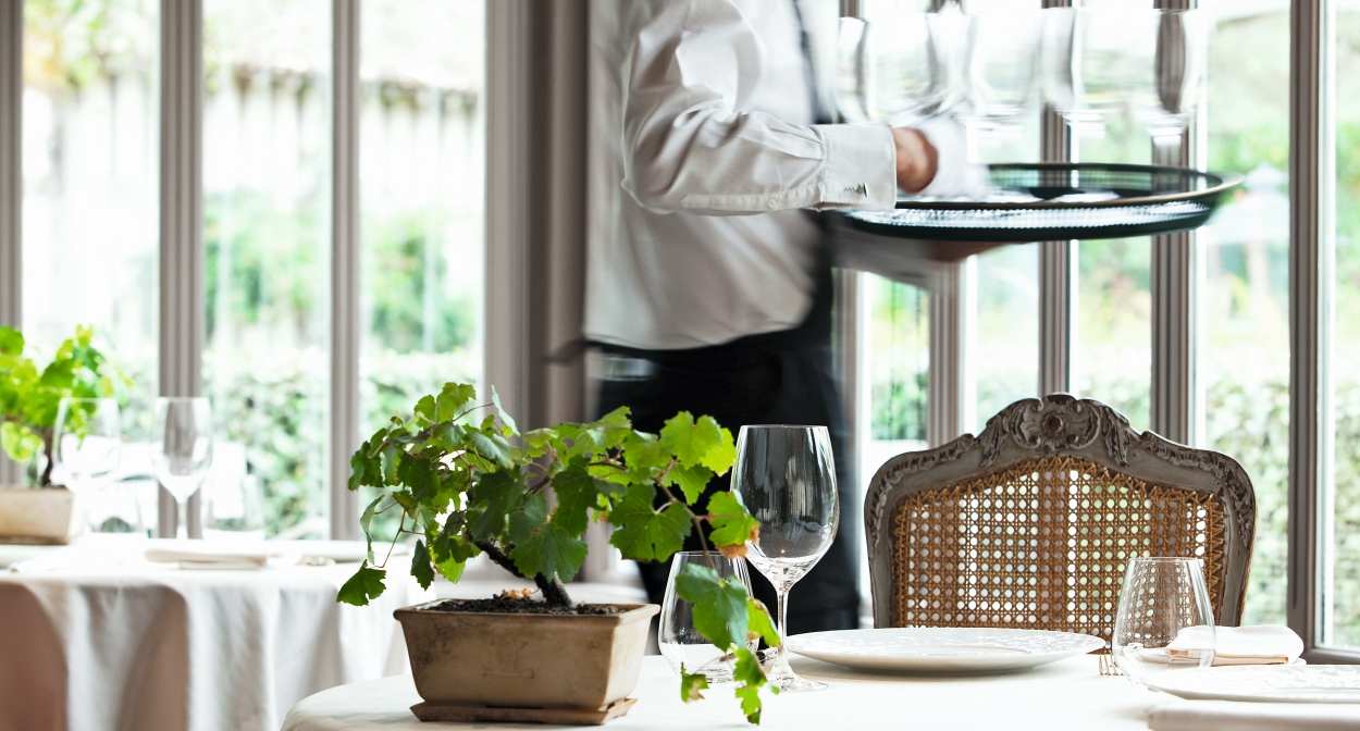 Restaurant gastronomique deux étoiles La Grand'Vigne © MCellard