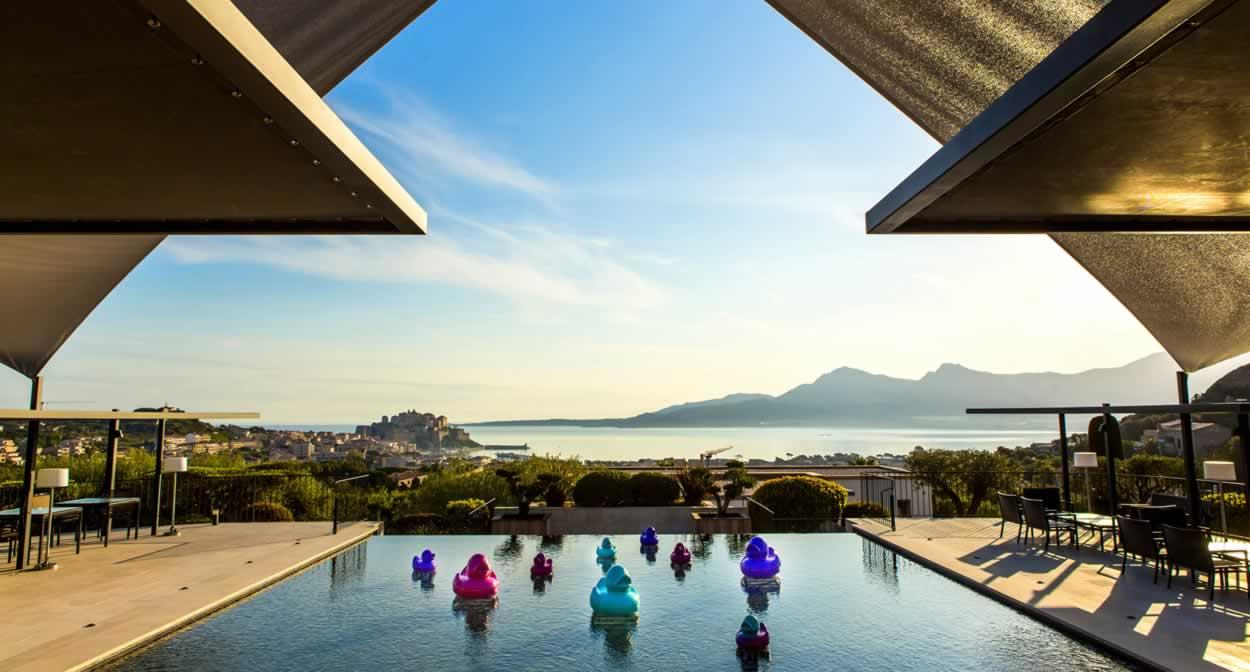 La Villa Calvi, oenotourisme en Corse © Pierre-Emmanuel Rastoin