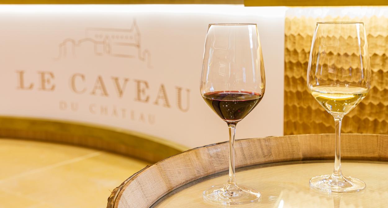 The Maison Guigal tasting cellar © Chalaye photographie pour Le Caveau du Château