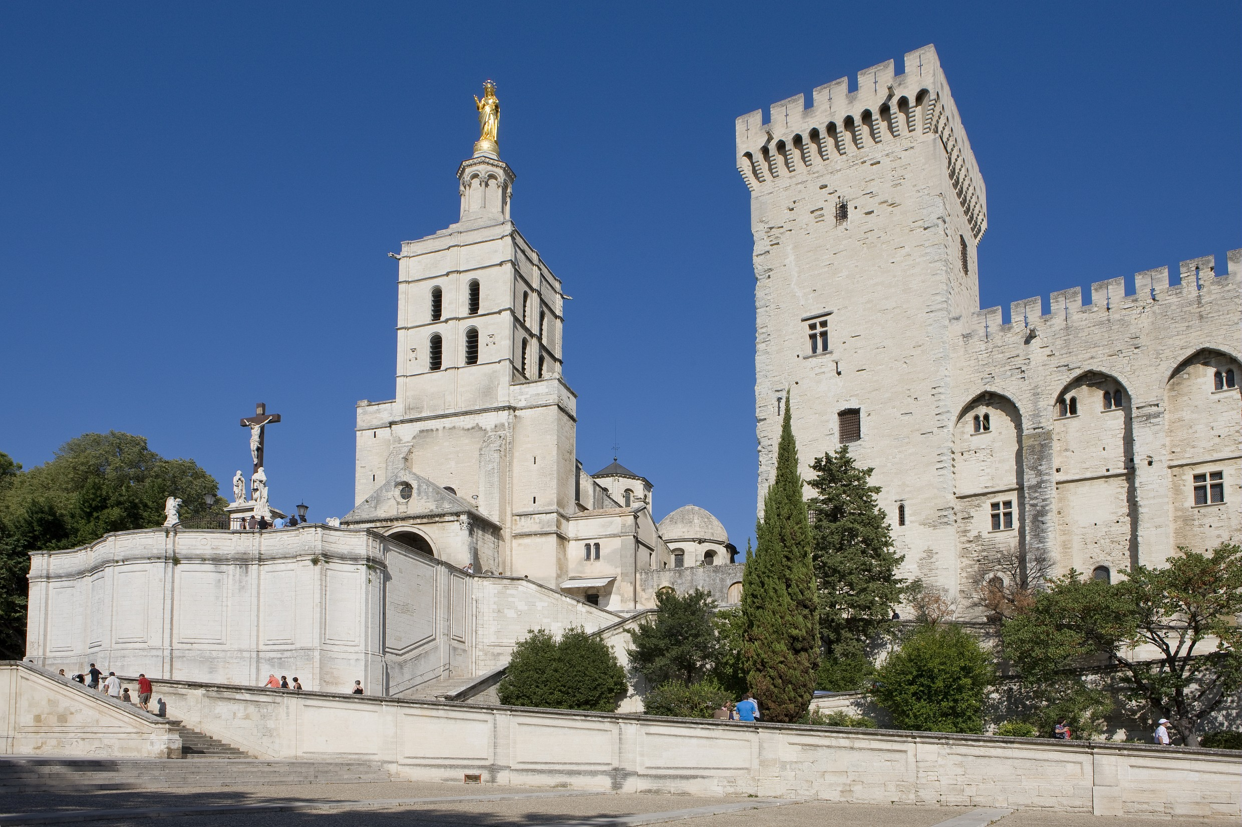 Palace of the Popes, Avignon, France © Christophe Grilhé