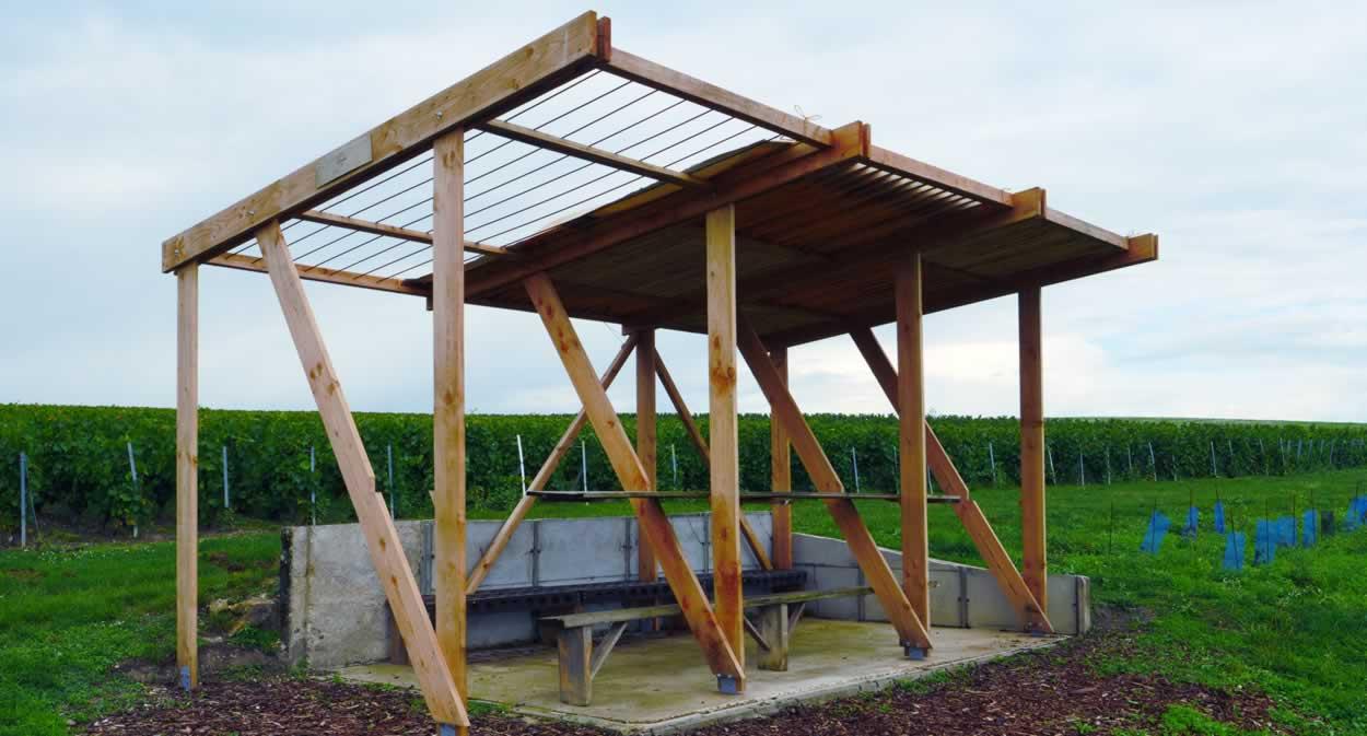 Loge sur une base de loge - Champagne Lamiable - Tours-sur-Marne@MACA