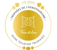 Logo Wine Tourism Trophies Golden Prize
