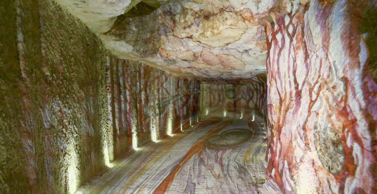 Leah Walker Loire Valley Cave Illuminated