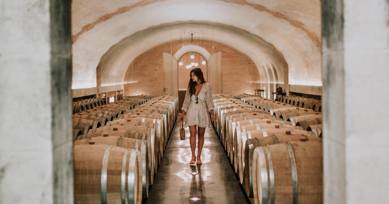 Touring wine cellars in the Loire Valley ©Awaylands