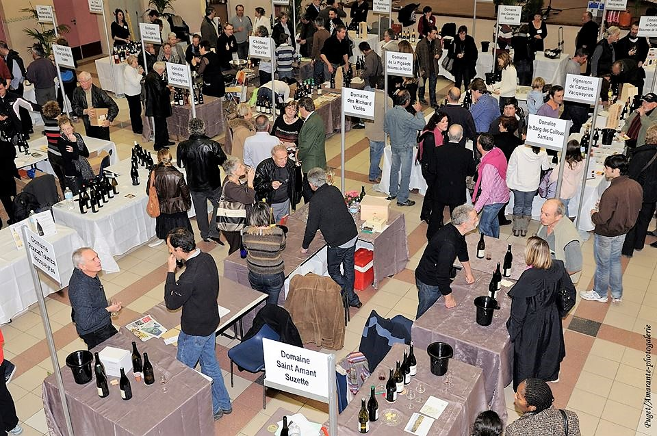 Beaumes-de-Venise and Vacqueyras wine fairs © Puget/Armante photographie